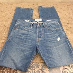Lucky brand men's jeans 121 heritage 30 x 32